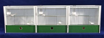 JH Treble Training Gage - FINCH / CANARY ~ 102X30X18 - JH ~ Training Cages (Made to order) (16P164)